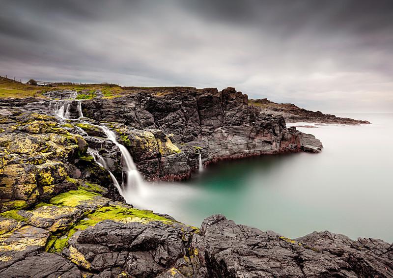 Dunservick Falls - Irish Landscapes