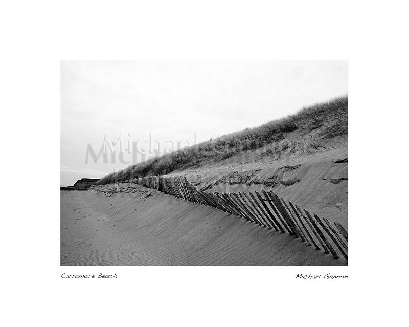 Carramore Beach 1 - Landscape Black and White
