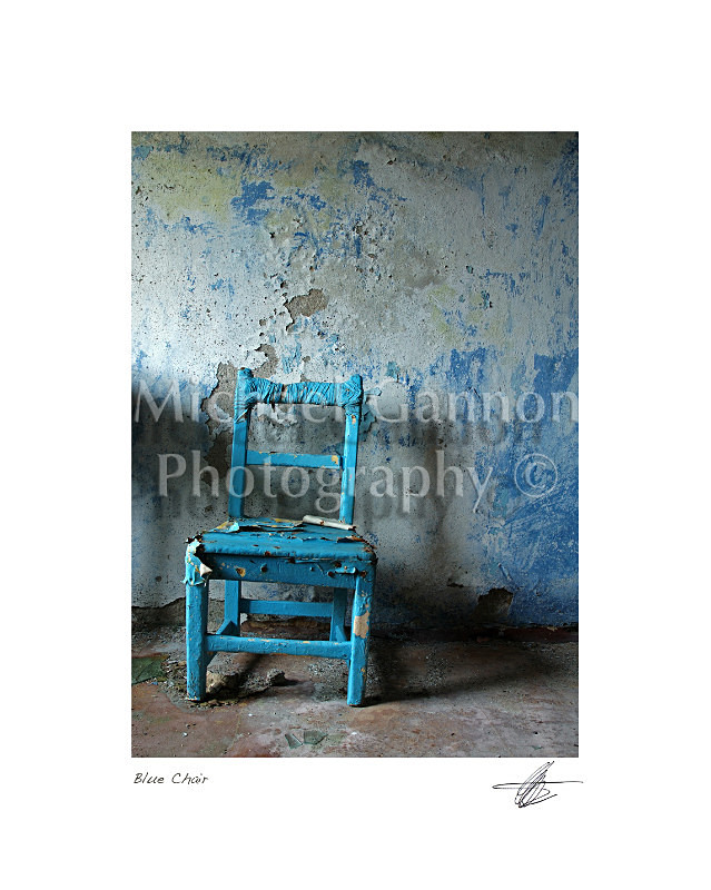 Blue Chair - Derelict Ireland