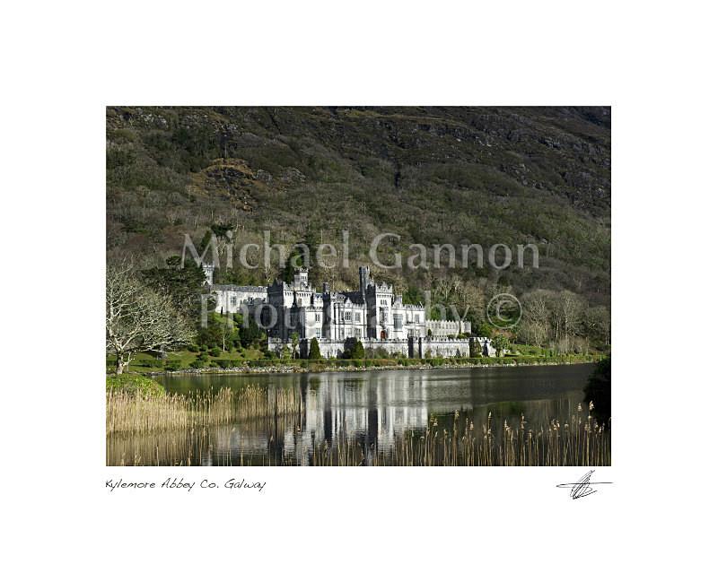 Kylemore Abbey Co Galway - Landscape Colour