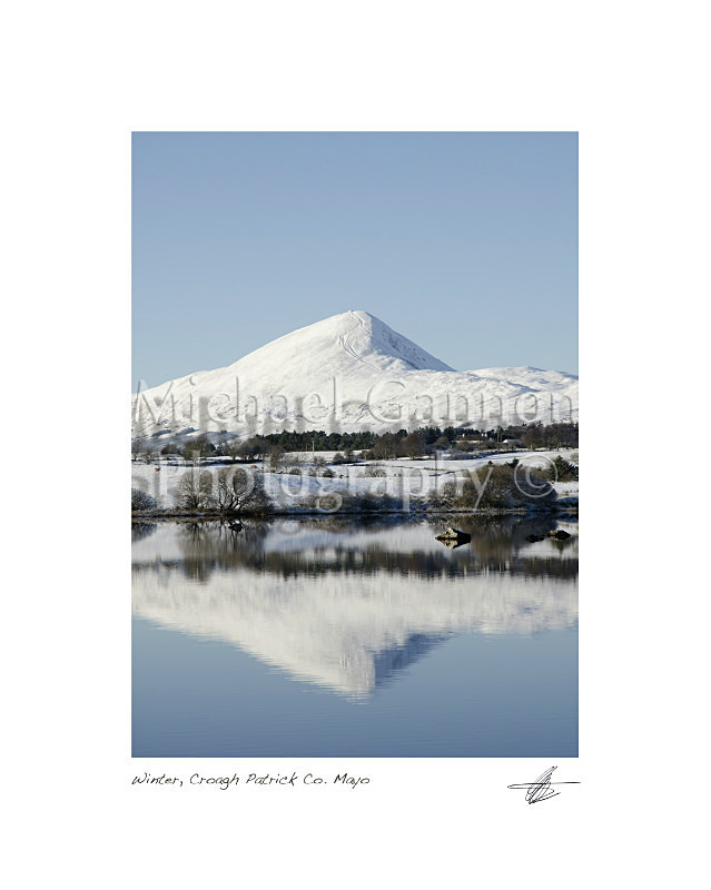 Winter Croagh Patrick Co Mayo - Landscape Colour