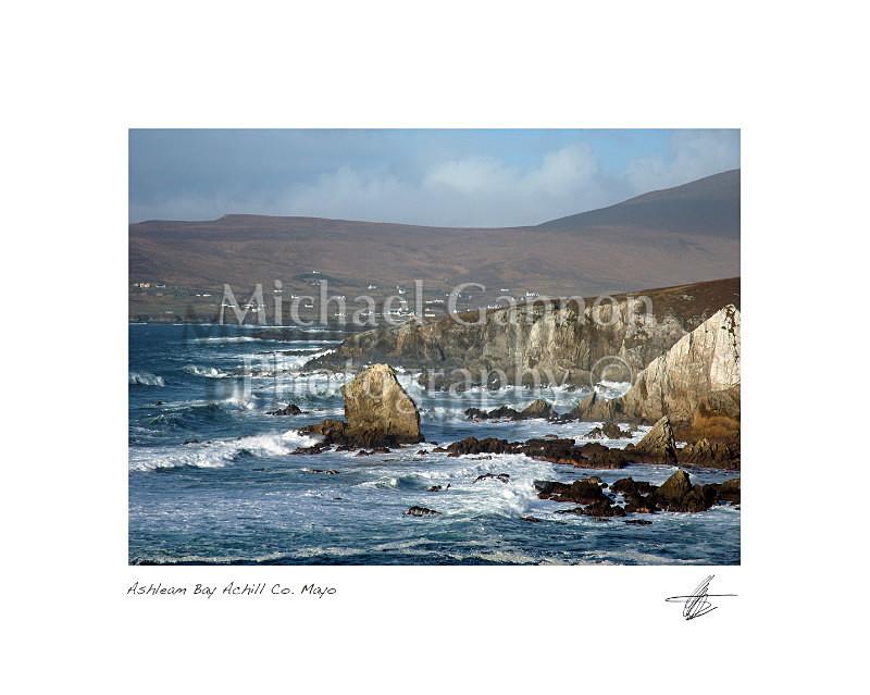Ashleam Bay Achill Co Mayo - Landscape Colour