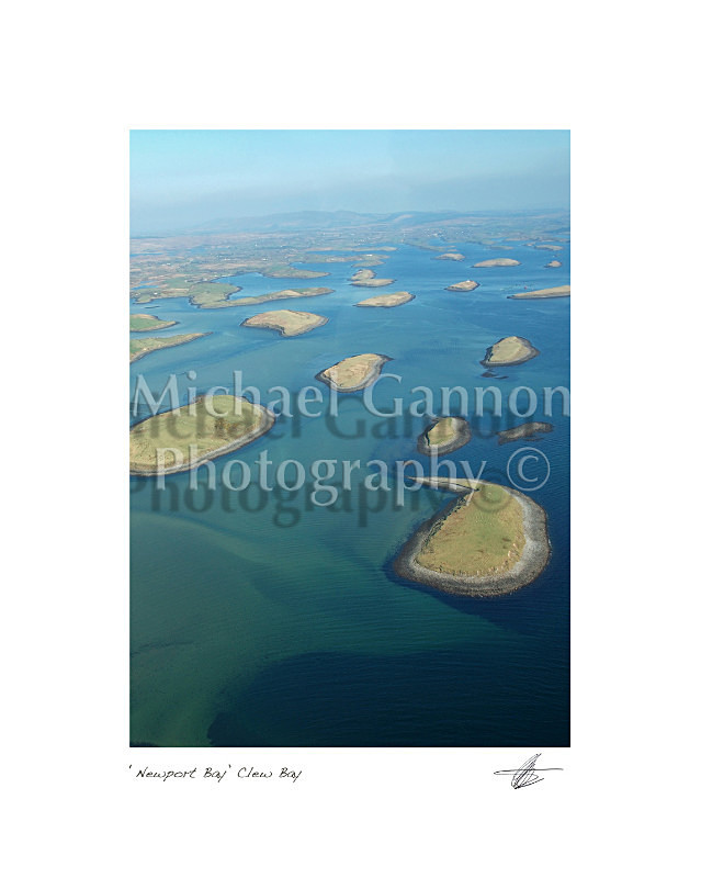 Newport Bay Clew Bay - Landscape Colour