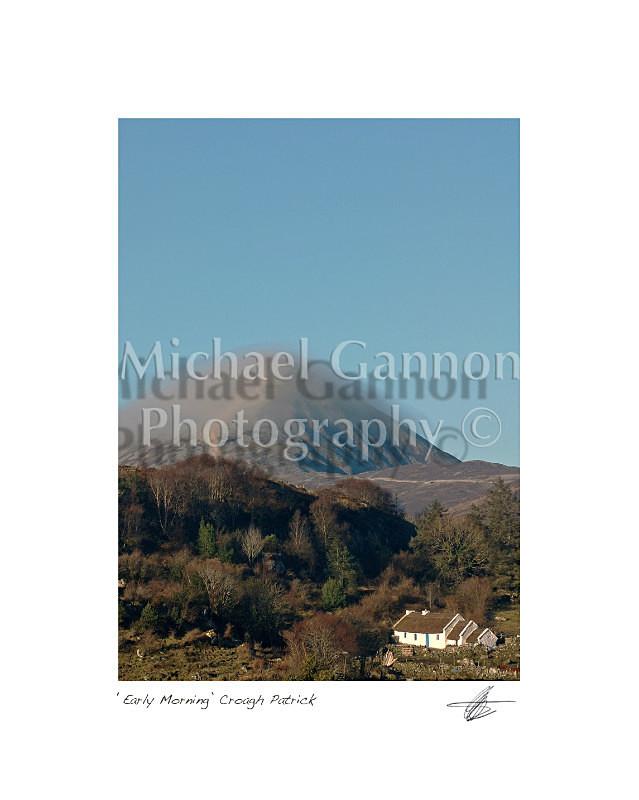 Early Morning Croagh Patrick - Landscape Colour
