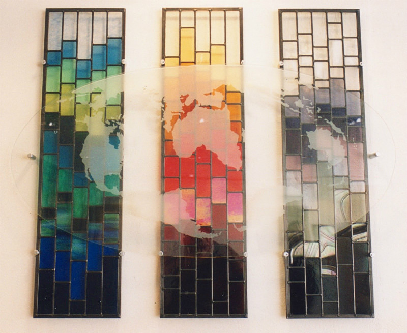 Nokia UK Headquarters | Carole Gray | Stained glass commission