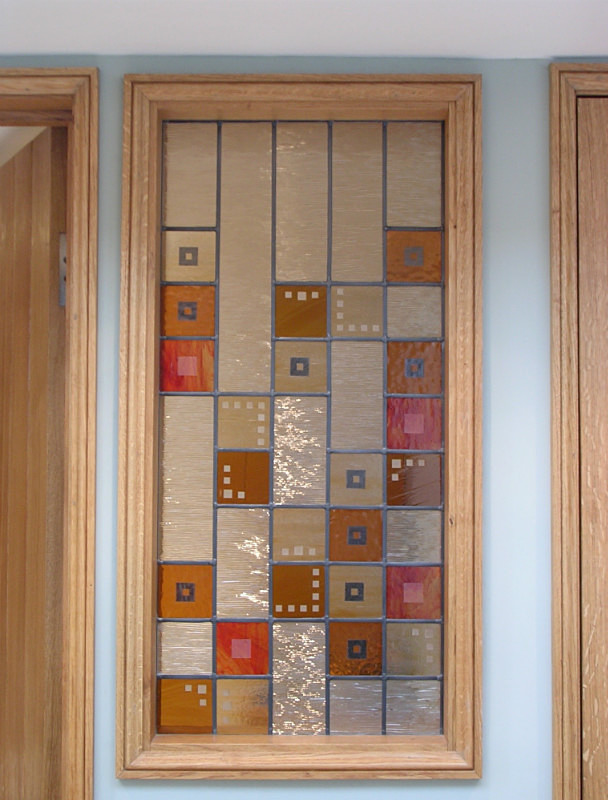 Cloakroom window 2 | Carole Gray | Stained glass commission