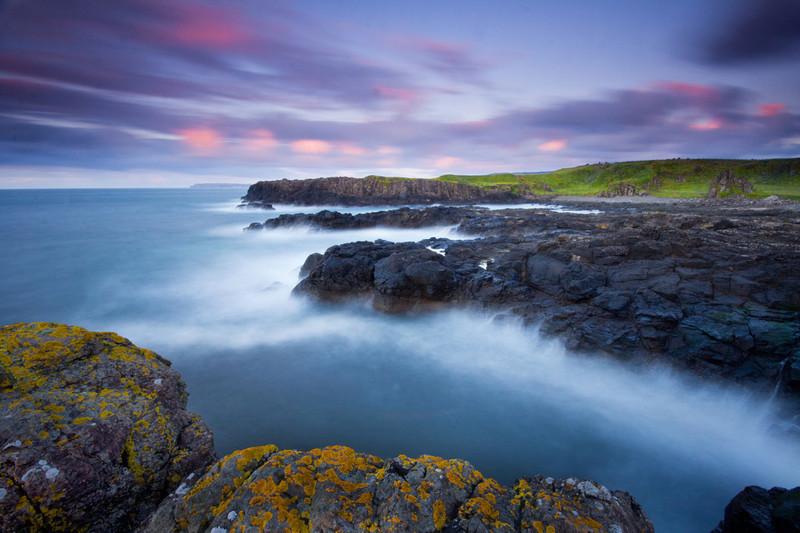 Dunsevrick Sunset - Landscape 2