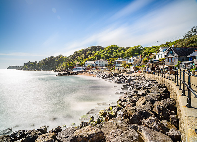 1861 Steephill Cove - Ventnor to St. Lawrence landscapes