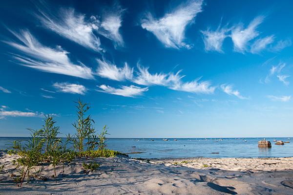 Wispy Clouds - NATURE'S WINDOW