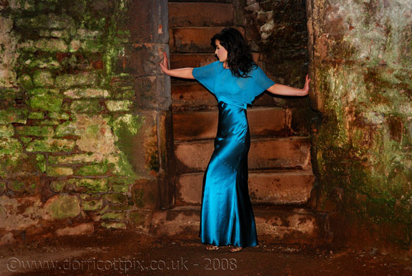 Lady in Blue - Location Shoots