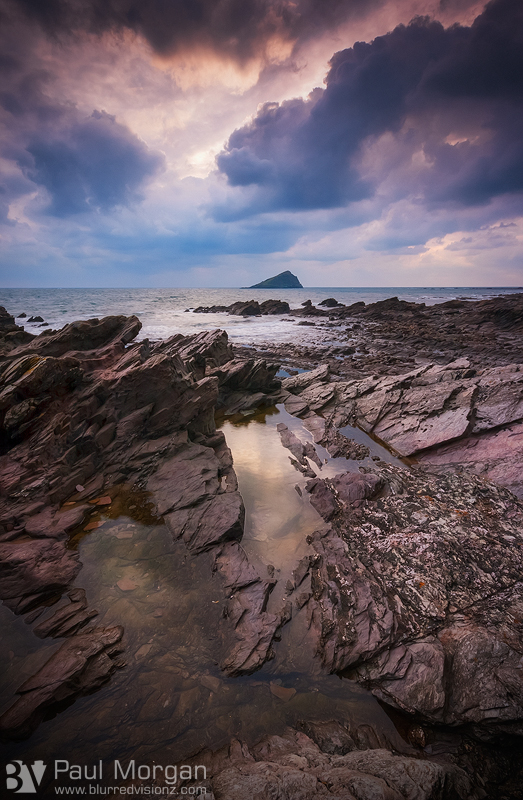 Weathered Wembury - Landscape (Vertical)