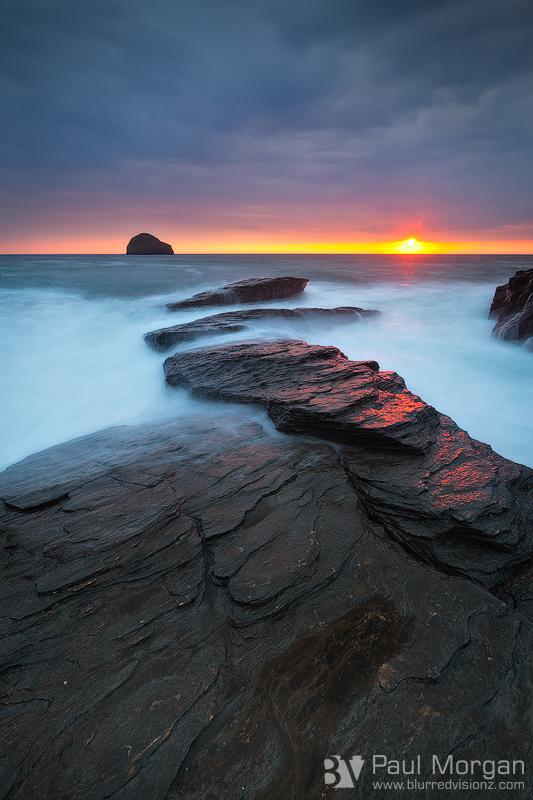 A bit of Light Rock - Landscape (Vertical)