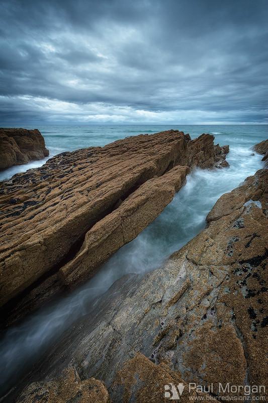 Shoreline Fracture - Landscape (Vertical)