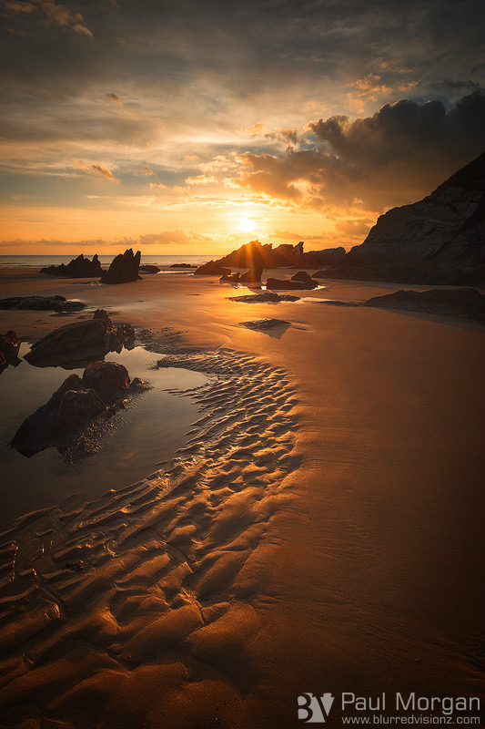 Golden Sands - Landscape (Vertical)