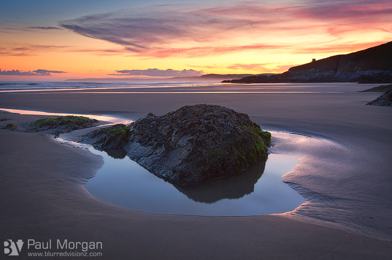 Seascape Serenity - Landscape (Horizontal)