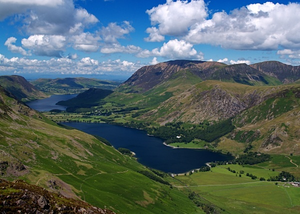Buttermere & Crummock Water - Cumbria