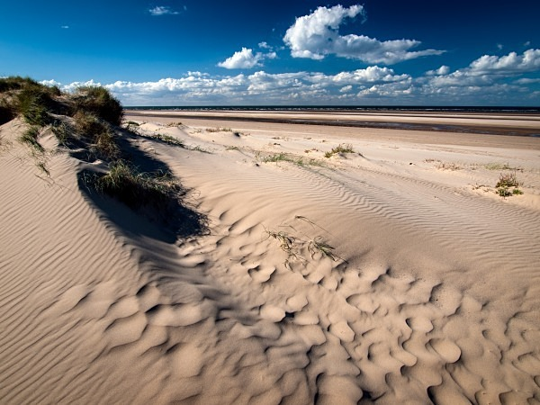 Holkham Beach photographed by Roger Butterfield