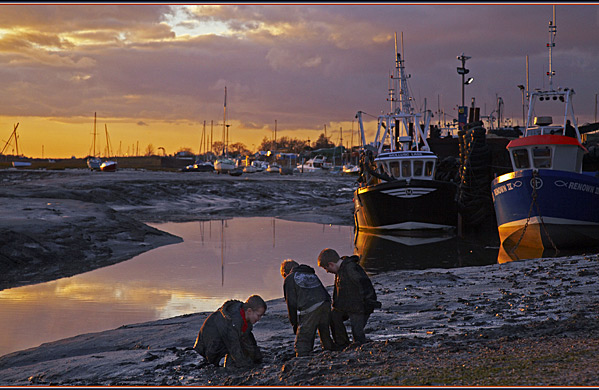 Mudlarks - Landscapes - UK
