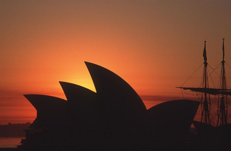 Sunrise after bushfires - Sydney Icons