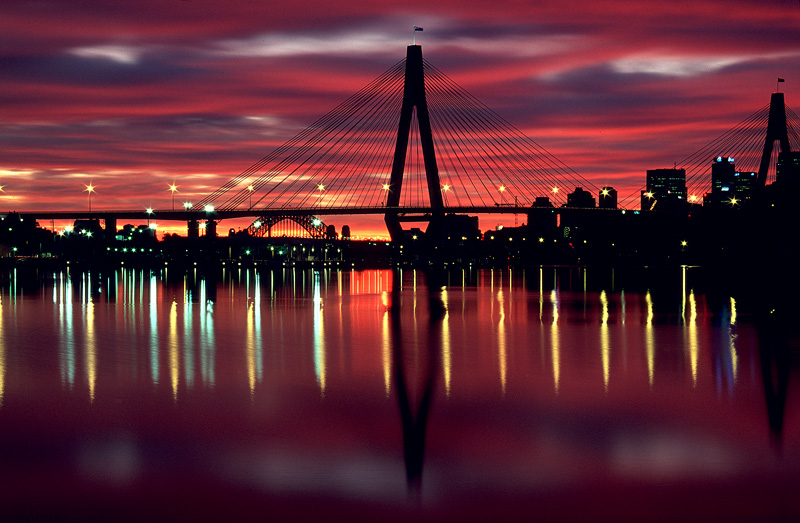 Anzac Bridge - Sydney Icons