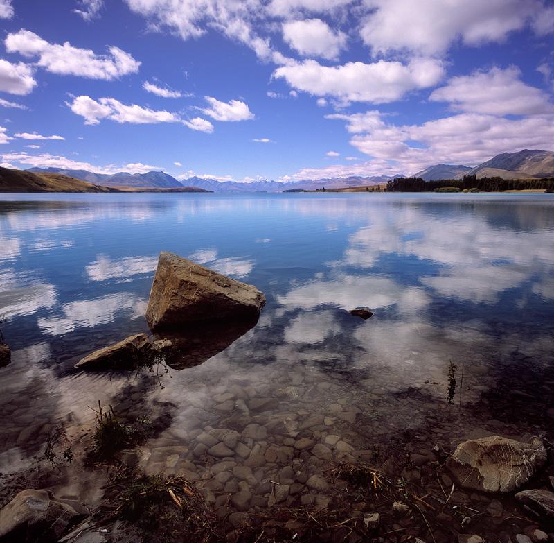 Lake Tekapo Afternoon - New Zealand