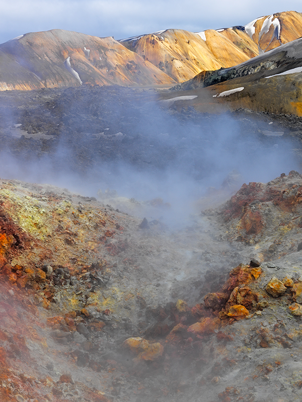 Fumaroles #2 - Iceland landscapes