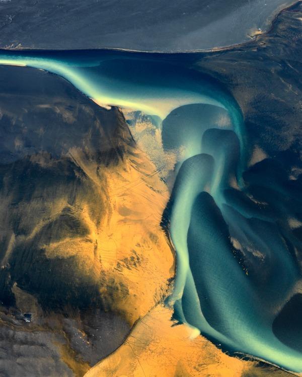Delta Study 9 - Iceland River Deltas