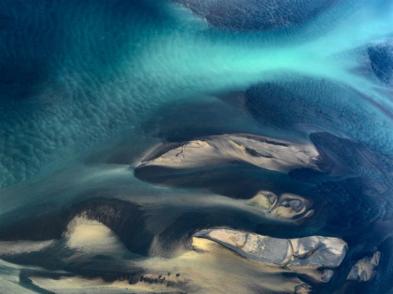 Delta Study 3 - Iceland River Deltas