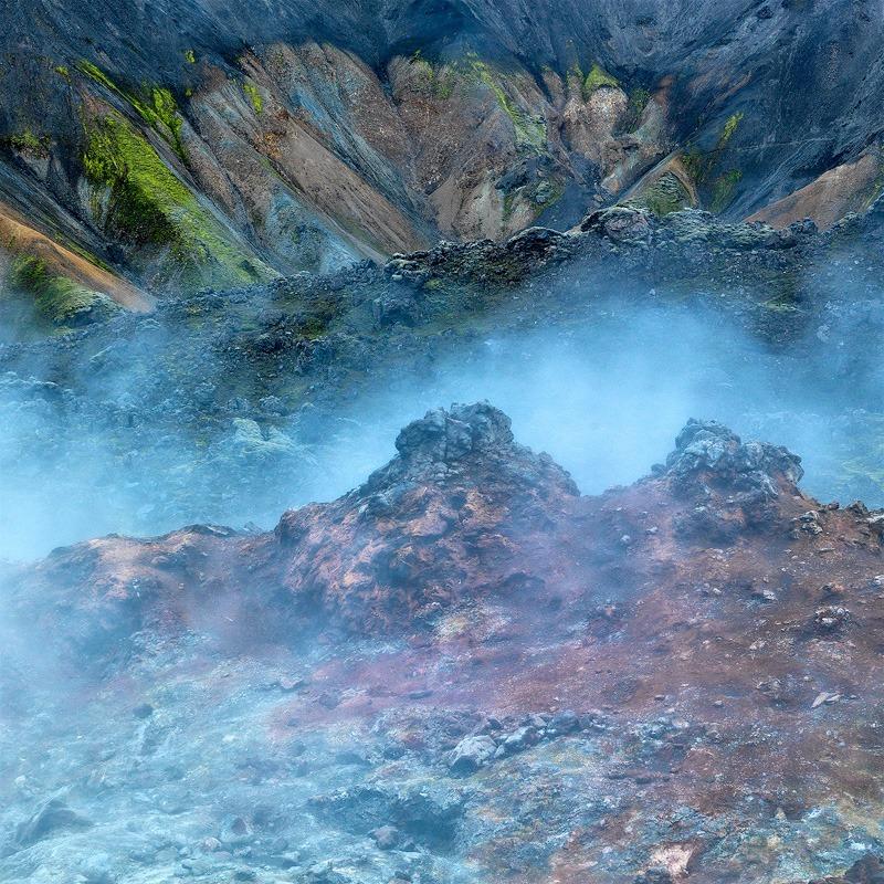 Fumaroles - Iceland landscapes