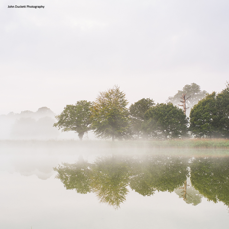 Norfolk Countryside landscape photograph of Blickling Lake