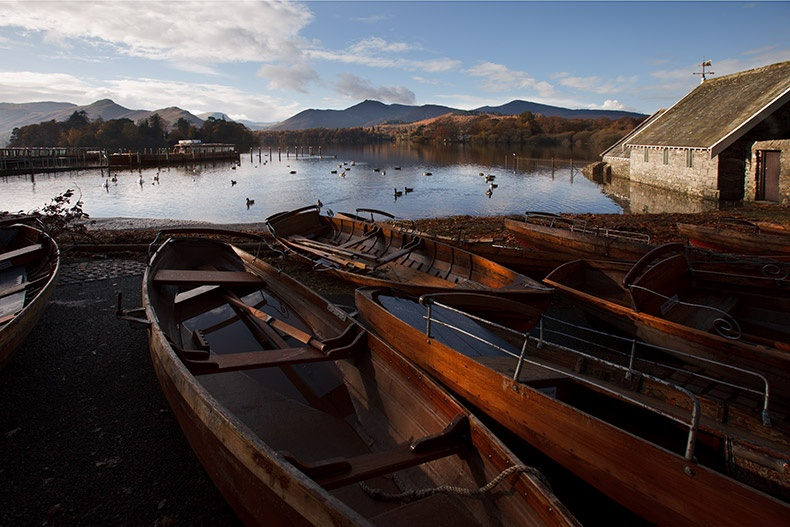 Derwentwater Rowing Boats - Lake District