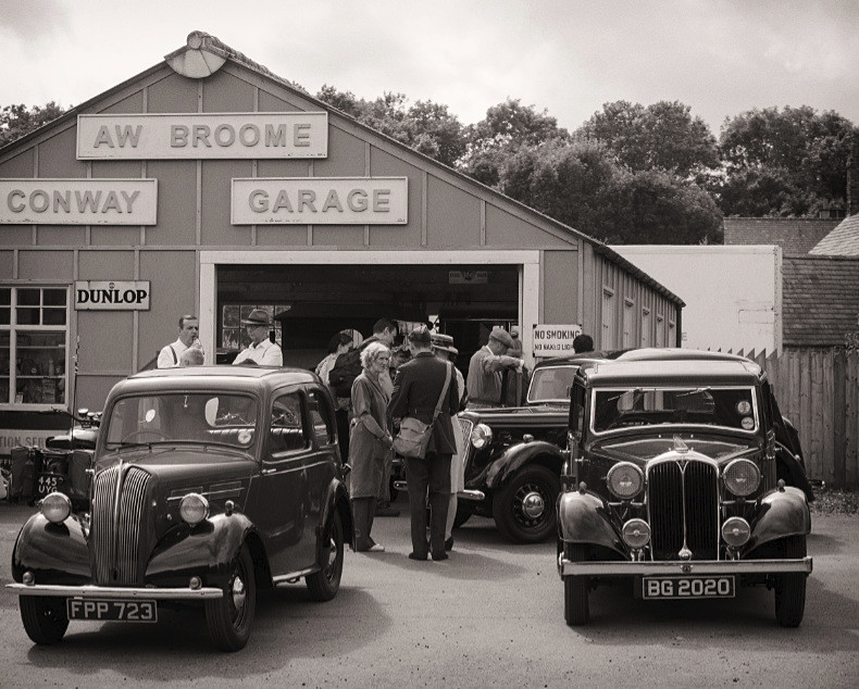 The Garage - Black Country 1940s