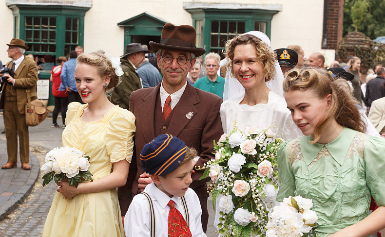 Wedding Party - Black Country 1940s