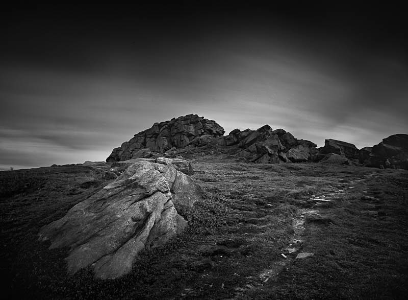 Path to Almscliffe Crag - Landscapes