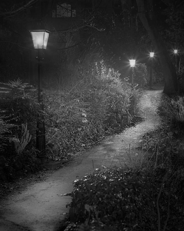 Enchanted Path Ilkley - Otley and Ilkley at Night