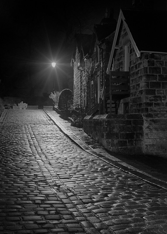 Castle Hill Ilkley - Otley and Ilkley at Night