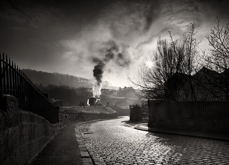 old steam Train Keighley