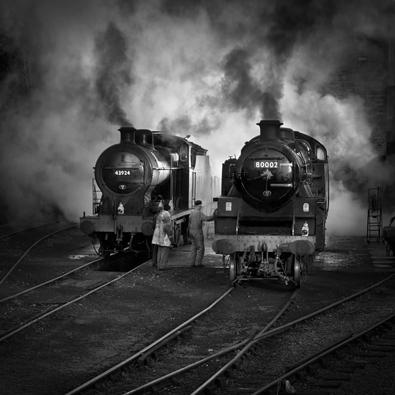 Steam Power - Night Exposures