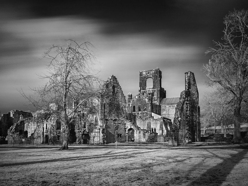 Kirsall Abbey, Infrared