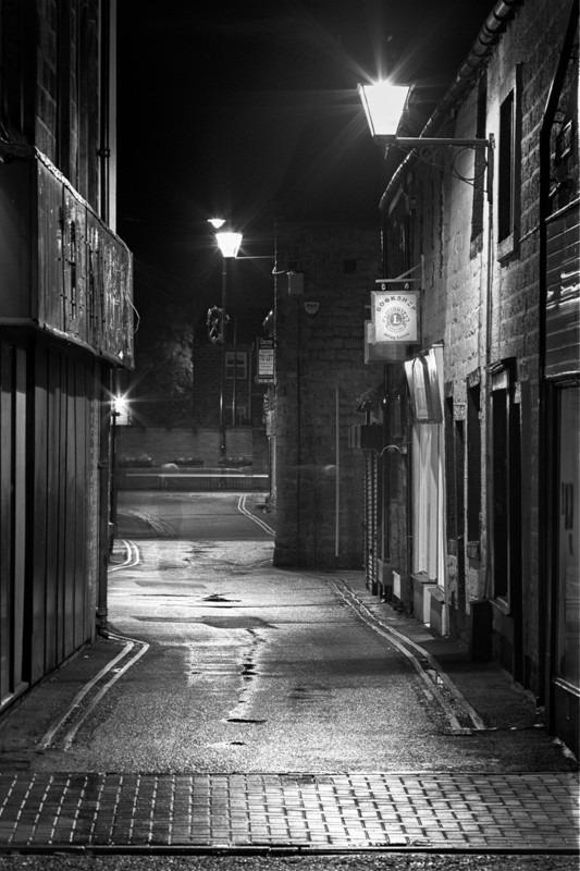 Mercury Row, Otley - Otley and Ilkley at Night