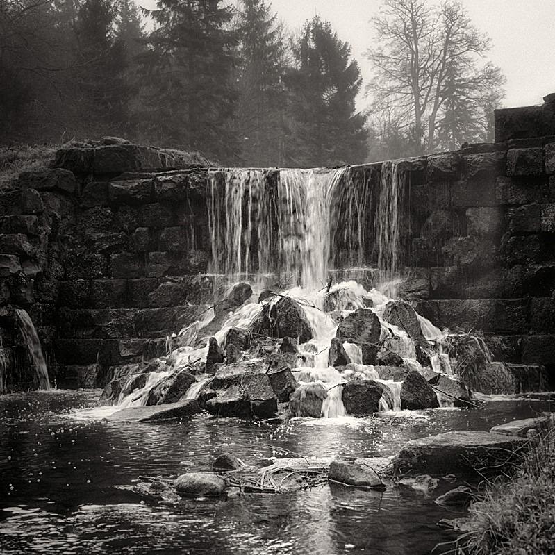 Falls at Harewood photograph