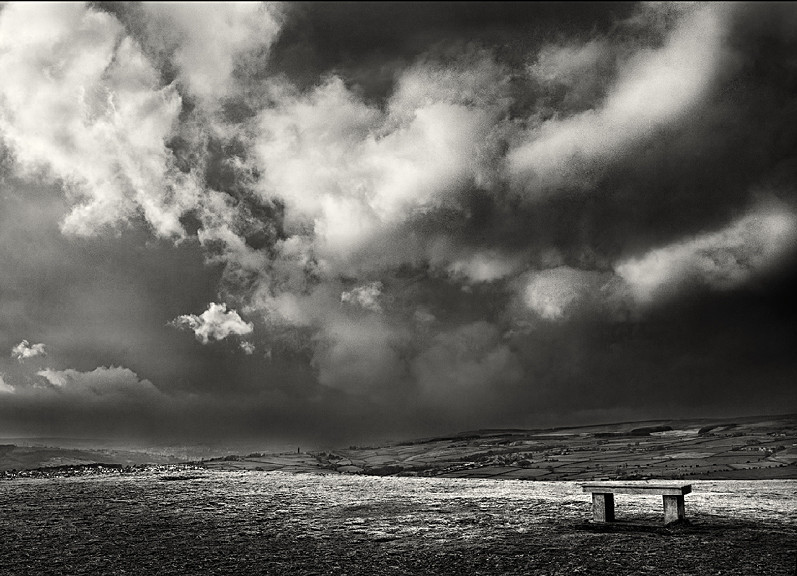 Baildon Moor Storm Clouds