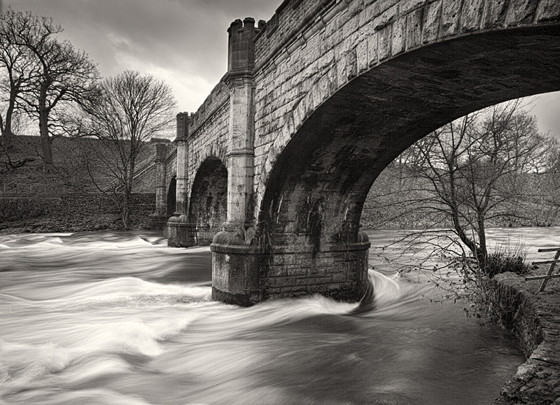 Old Bridge over the River Wharfe