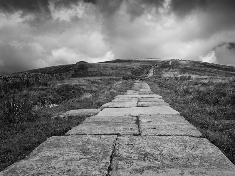 Path to Pen-y-Ghent Summit - Landscapes