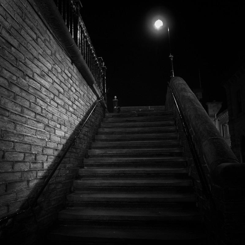 Steps Salts Mill - Night Exposures