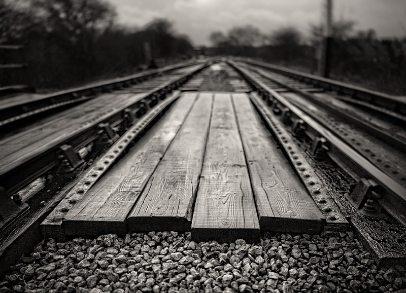 Train trackClose up of railway track