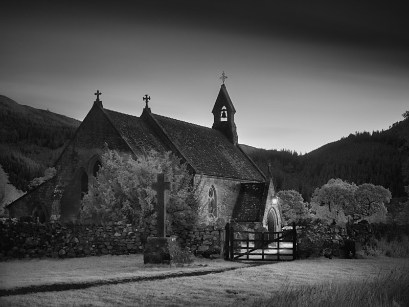 St Bega's Church, Bassenthwaite - Night Exposures