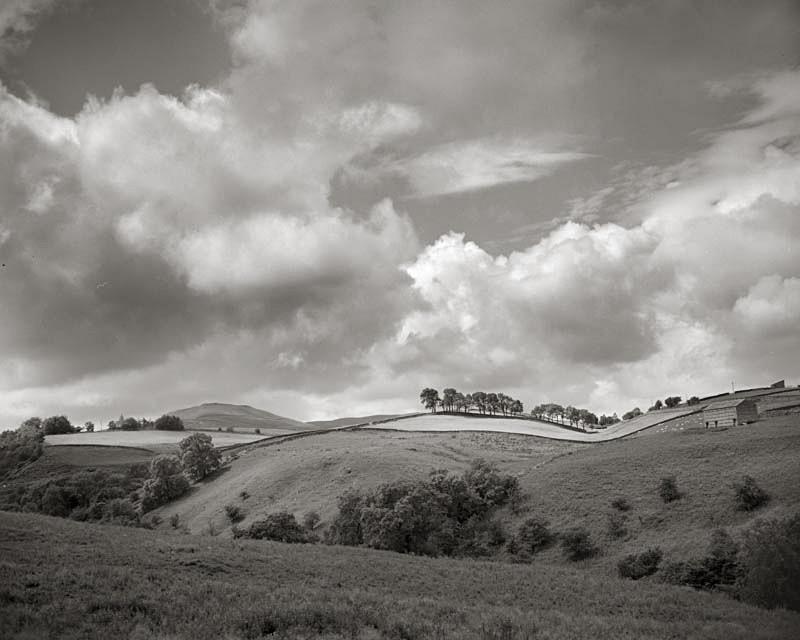 Rolling Hills, Yorkshire Dales Scene - Landscapes