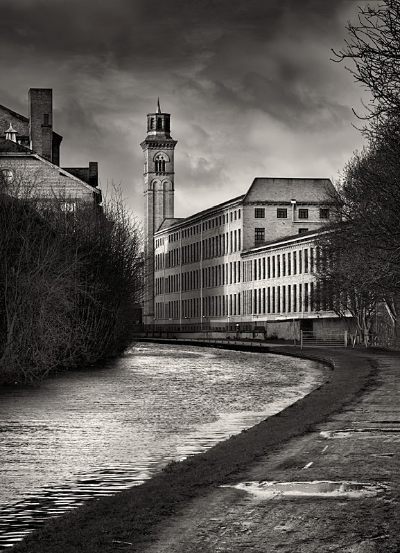 Salts mill Canal Side