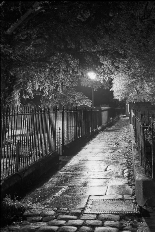 Otley Side Path 35mm shot - Otley and Ilkley at Night